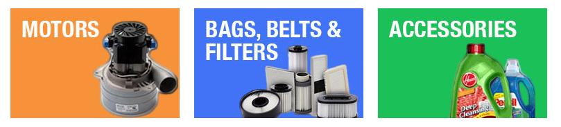 vacuum parts,Vacuum Belts, Vacuum Bags,vacuum filters,Vacuum Hoses,
