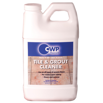 Cwp Floorcare Tile Amp Grout 64oz Cleaner Restores The