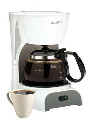 Buy Continental Coffee Makers - DR4-NP Mr coffee 4 cup white