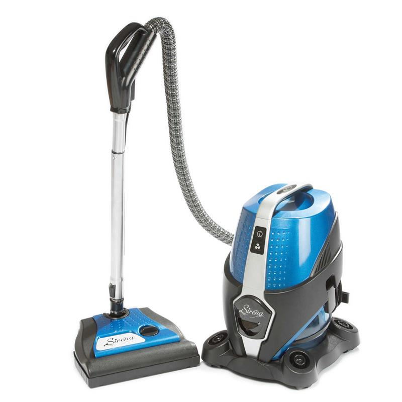 S10na Sirena Water Filtered Canister Vacuum