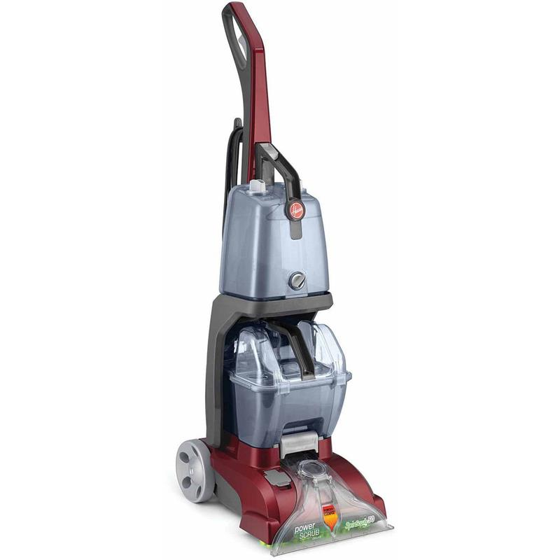 Fh50140rm Hoover Power Scrub Vacuum Corded Carpet Cleaner