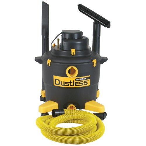 Dustless Technologies 16003 16 Gallon Dustless Wet Dry Vacuum