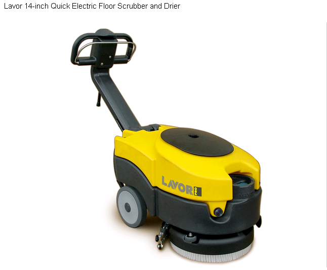 Lavor Slc Quick 36 Hard Floor Scrubber And Dryer