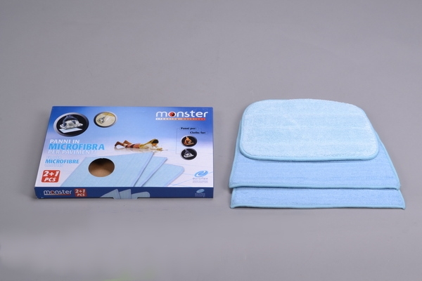Micro Fiber Cloth Monster Ez1 Steamer 3 Pack