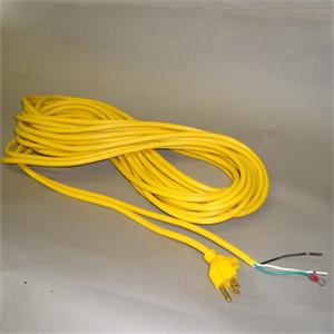 Cord 50ft Yellow 18/3 wire with Gripper