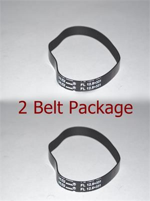 Hoover 440006155 Belt 2 pack fits Carpet Cleaners non stretch