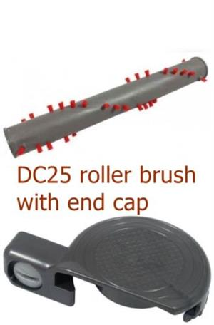 Dyson DC25 Multi Floor Vacuum Cleaner Brushroll Roller Brush With End Cap