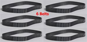 6 New Belts for Dirt Devil Vacuum Cleaner 4/5 Style 4 & 5