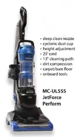 Panasonic Mc Ul555 Upright Vacuum Mc Ul555