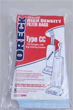Oreck CC,8PK,Upright Docking Type High Density CCPK8 bags