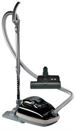 SEBO 9688AM Airbelt K3 Canister Vacuum with ET-1 Powerhead and Parquet Brush, Black