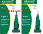 Bissell Commercial Replacement Bags For Bgu1451t 25Pack U1451PK25  2 packs 50pcs