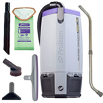 Pro Team 107303 Super Coach Pro 10 Backpack Vacuum w/ Xover Tool Kit D