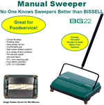 Bissell BG22 Commercial Sweeper