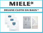 Miele GN Deluxe Allergen Replacement Vacuum Bags and Filters - 5 Synthetic Bags + 2 Filters