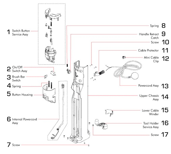 Dyson Dc Animal And Multi Floors Partswarehouse also E Fe Dde C D E also Dc further Dc further Dc. on dyson dc41 animal parts diagram