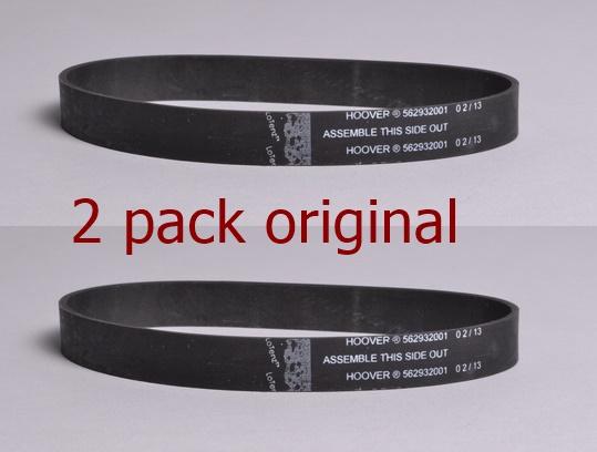 2-Packs Vacuum Belts Suitable Hооvеr Windtunnel Uh-70110 Rewind T Series Stretch Belts