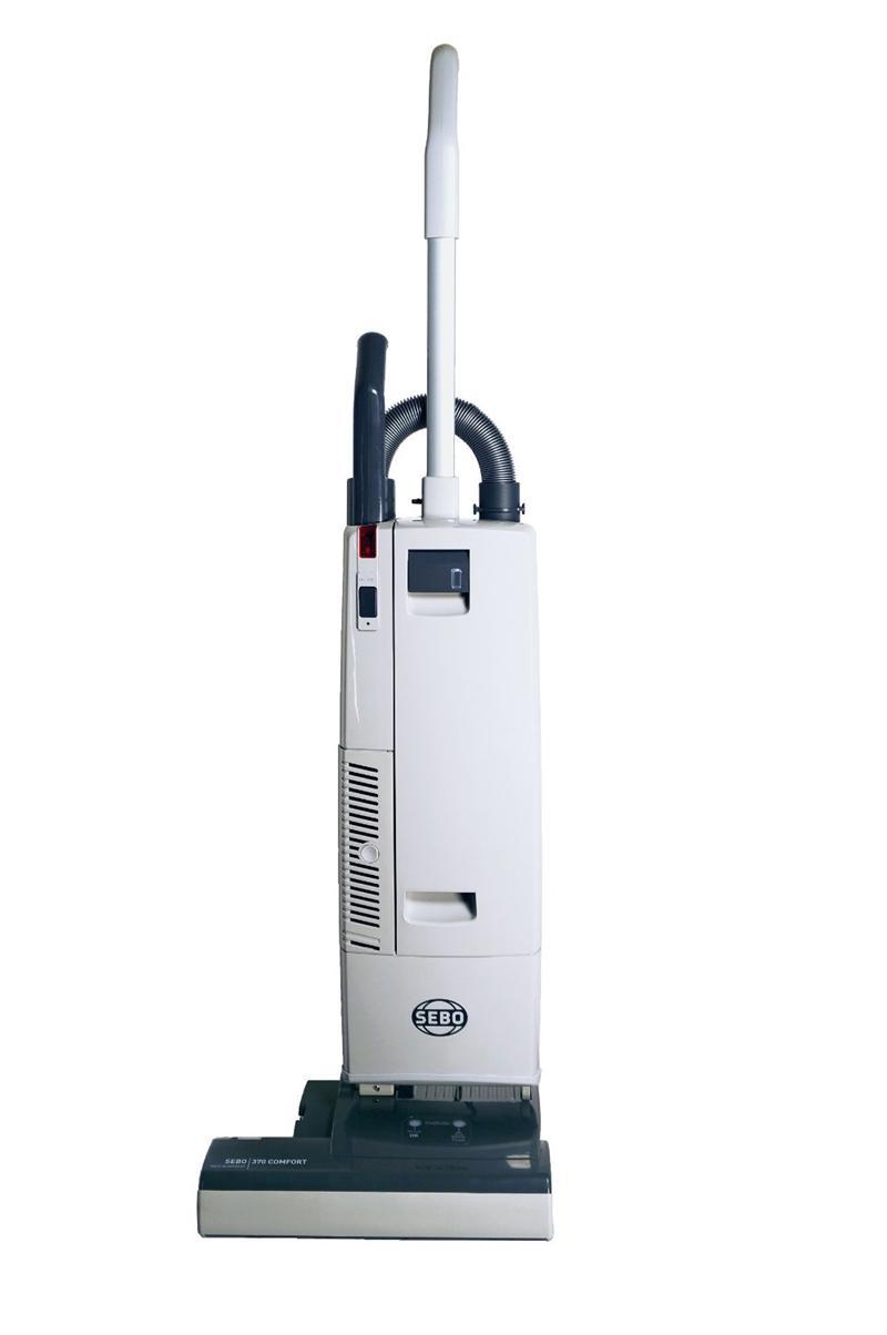 Sebo 90703am 370 Comfort Vacuum Light Gray Dark Gray