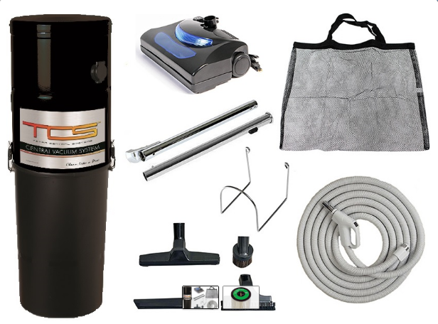 Titan Tcs 8575 Central Vacuum With Kit