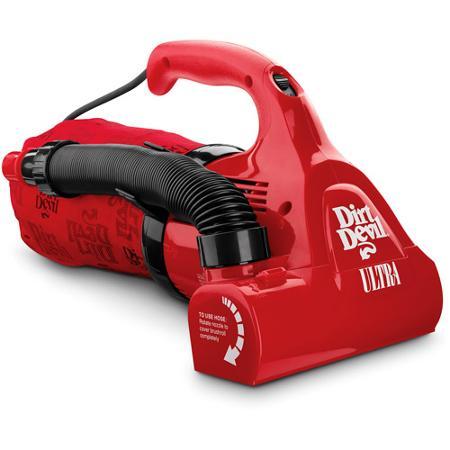M08230red Dirt Devil Ultra Bagged Handheld Vacuum