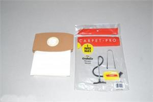 C5P-6 PAPER BAGS-CARPET PRO CP500 CANISTER,6PK