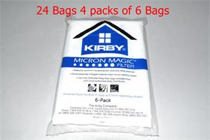 24 Kirby Style F Micron Vacuum Bags Part # 204811G for Kirby Sentria