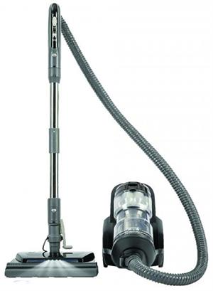 TITAN T8000 Bagless Canister with Power Nozzle Black