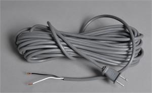 Fit all cord 2 wire grey 40 ft