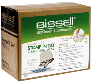 BISSELL Stomp-N-Go Stain Lifter Pads, 20pk Model # 77D1