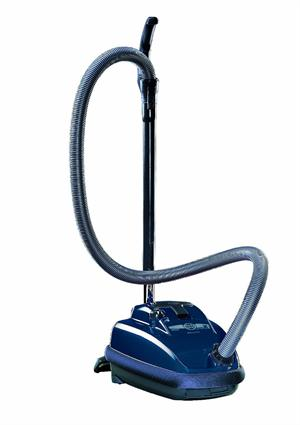 Sebo 9679AM Canister Vacuum With Combination Nozzle Midnight Blue Finish