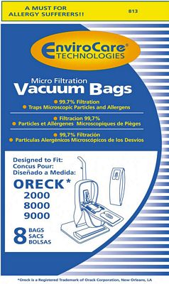 200 Oreck Bags Type C EnviroCare 813