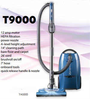 T9000 Titan Canister Vacuum with Power Nozzle