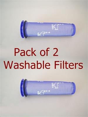 2 pack Dyson DC-41, DC65 Washable Vacuum Pre Filter, Part # 920640-01