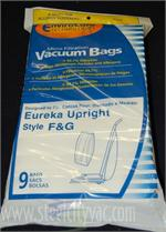Eureka Sanitaire Commercial F&G Bags 9 Pack