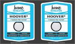 2 filters Hoover T-Series Primary Rinsable Filter #303173002-1 Replacement