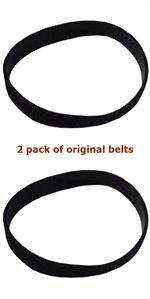 B014-0814 Riccar Supralite Simplicity Freedom upright belt Original 2 pack