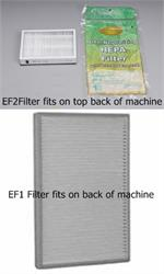 ef1 or ef2 kenmore filters