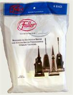 Fuller Brush 6 pack Upright Bags # 6.181