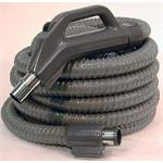 Central Vacuum Hose Complete Universal Fit with 6 ft Pigtail